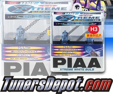 PIAA® Xtreme White Plus Fog Light Bulbs - 2013 Subaru Tribeca (H3)