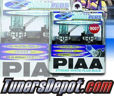 PIAA® Xtreme White Plus Headlight Bulbs - 09-11 Suzuki SX4 SX-4 (9007/HB5)