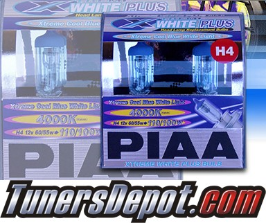PIAA® Xtreme White Plus Headlight Bulbs - 2012 Hyundai Accent (H4/9003/HB2)