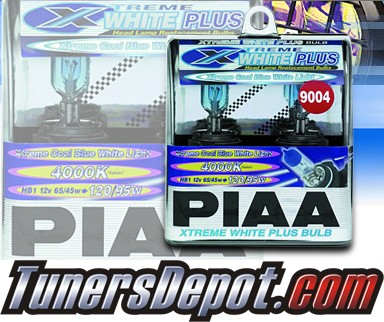 PIAA® Xtreme White Plus Headlight Bulbs - 85-92 Nissan Stanza (9004/HB1)