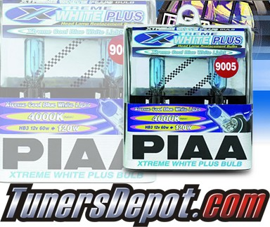 PIAA® Xtreme White Plus Headlight Bulbs (High Beam) - 2012 Cadillac SRX (9005/HB3)