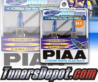 PIAA® Xtreme White Plus Headlight Bulbs (High Beam) - 2012 Ford Focus (H1)