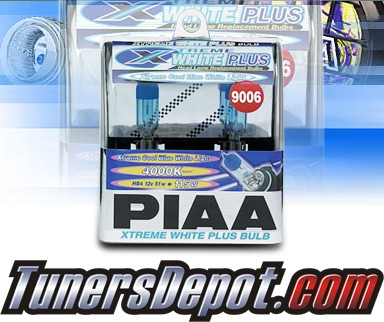 PIAA® Xtreme White Plus Headlight Bulbs (Low Beam) - 2009 Nissan Quest (9006/HB4)