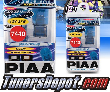 PIAA® Xtreme White Rear Turn Signal Light Bulbs - 2010 Toyota Prius