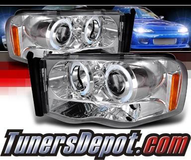 2004 dodge ram pickup spec d halo projector headlights ram. Black Bedroom Furniture Sets. Home Design Ideas