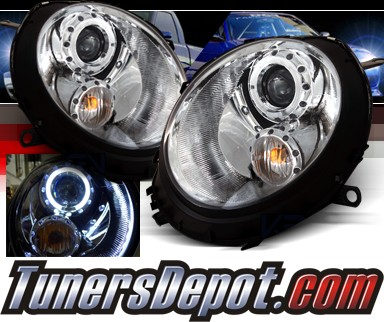 SPEC-D® Halo Projector Headlights - 07-12 Mini Cooper 2dr (Incl. Convertible)