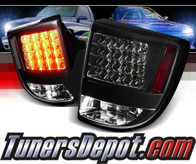 SPEC-D® LED Tail Lights (Black) - 00-05 Toyota Celica