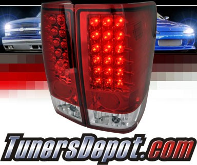 SPEC-D® LED Tail Lights (Red) - 04-12 Nissan Titan
