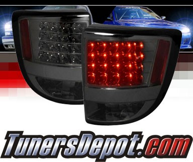 SPEC-D® LED Tail Lights (Smoke) - 00-05 Toyota Celica