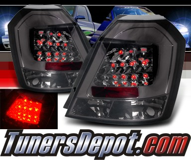 Spec D Led Tail Lights Smoke 04 06 Chevy Aveo Hatchback Lt Ave04gled Tm