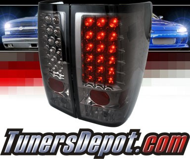 SPEC-D® LED Tail Lights (Smoke) - 04-12 Nissan Titan