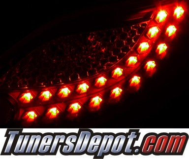 SPEC-D® LED Tail Lights (Smoke) - 11-12 Mazda 2