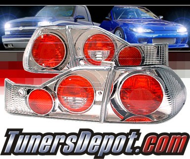 Sonar® Altezza Tail Lights - 98-00 Honda Accord 4dr