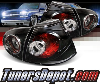 Sonar® Altezza Tail Lights (Black) - 06-09 VW Volkswagen Rabbit V MK5