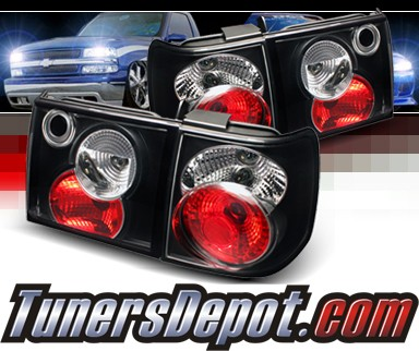 Sonar Altezza Tail Lights Black 93 96 Vw Volkswagen Pat Alt Yd Vwpat93 Bk