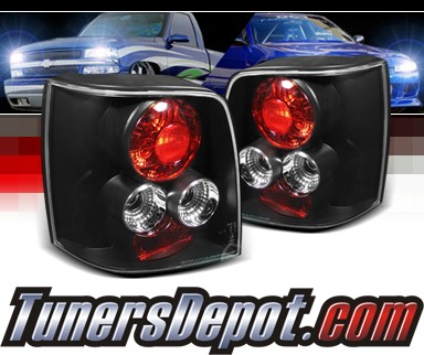 Sonar Altezza Tail Lights Black 97 00 Vw Volkswagen Pat 5dr Alt Yd Vwpat97 5d Bk