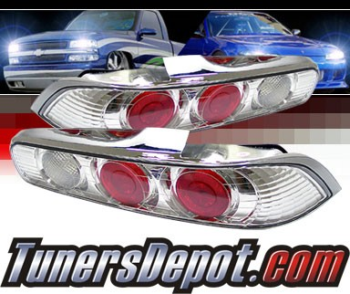 Sonar® Altezza Tail Lights (Chrome) - 94-01 Acura Integra 2dr.