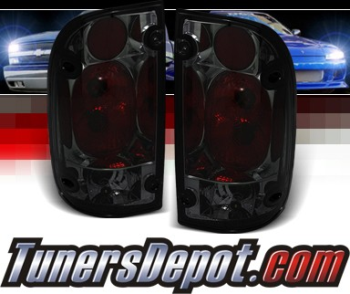 Sonar® Altezza Tail Lights (Smoke) - 01-04 Toyota Tacoma