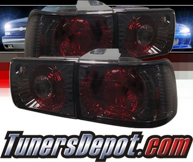 Sonar® Altezza Tail Lights (Smoke) - 92-93 Honda Accord 4dr.