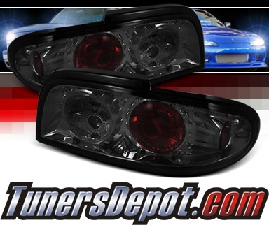 Sonar® Altezza Tail Lights (Smoke) - 93-97 Nissan Altima