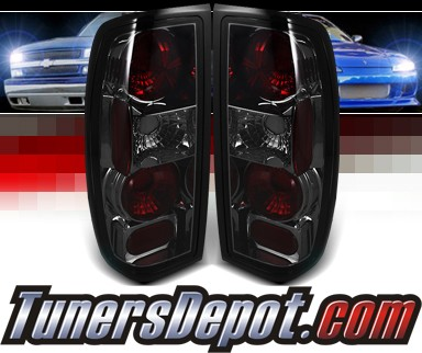 Sonar® Altezza Tail Lights (Smoke) - 98-04 Nissan Frontier