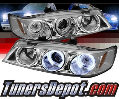 Sonar® CCFL Halo Projector Headlights - 94-97 Honda Accord