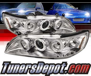 Sonar® CCFL Halo Projector Headlights - 98-02 Honda Accord