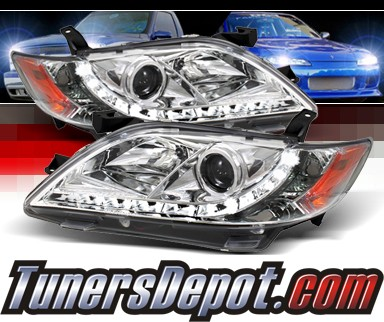 Sonar® DRL LED Projector Headlights - 07-09 Toyota Camry