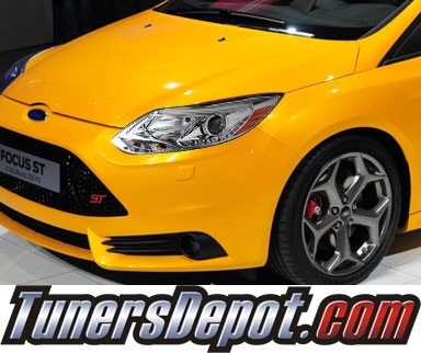 Sonar® DRL LED Projector Headlights - 12-14 Ford Focus