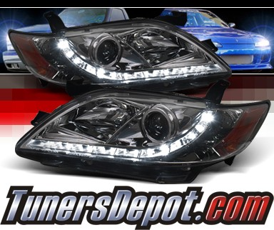 Sonar® DRL LED Projector Headlights (Smoke) - 07-09 Toyota Camry