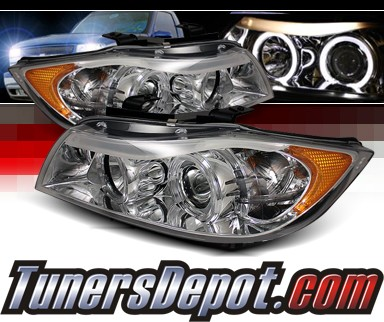 Sonar® Halo Projector Headlights - 07-08 BMW 335xi E90 4dr.