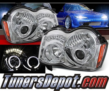Sonar® Halo Projector Headlights - 08-10 Jeep Grand Cherokee