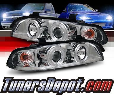 sonar halo projector headlights 97 00 bmw 528i e39 pro yd bmwe39 c. Black Bedroom Furniture Sets. Home Design Ideas
