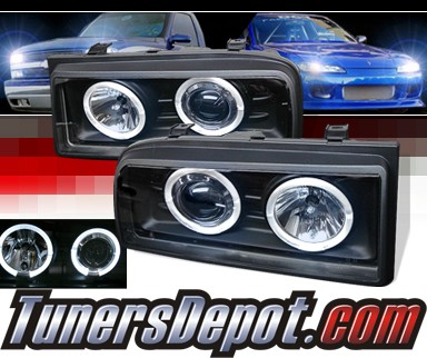 Sonar Halo Projector Headlights Black 90 95 VW Volkswagen Corrado 33 98 image part YD_PRO_VCOR90_BK_m sonar� halo projector headlights black 90 95 vw volkswagen sonar sk3302 wiring diagram at eliteediting.co