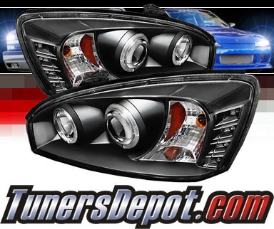 Sonar® LED Halo Projector Headlights (Black) - 04-07 Chevy Malibu