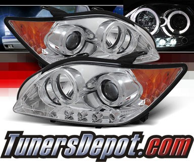 Sonar® LED Halo Projector Headlights (Chrome) - 08-10 Scion tC