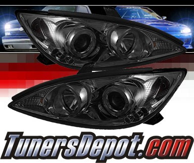 Sonar® LED Halo Projector Headlights (Smoke) - 02-06 Toyota Camry