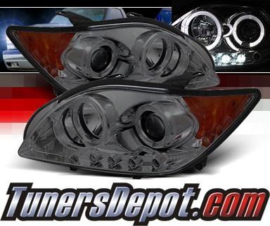 Scion Tc Headlights >> Sonar Led Halo Projector Headlights Smoke 08 10 Scion Tc