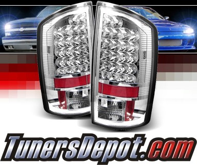 Sonar® LED Tail Lights - 07-09 Dodge Ram Pickup 2500/3500