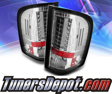 Sonar® LED Tail Lights - 07-13 Chevy Silverado