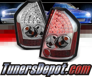 Sonar® LED Tail Lights - 08-10 Chrysler 300C