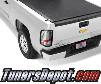 Sonar® LED Tail Lights - 09-10 Chevy Silverado Pickup Truck with 921 Reverse Bulb Only (Not larger 3047 Reverse Bulb)