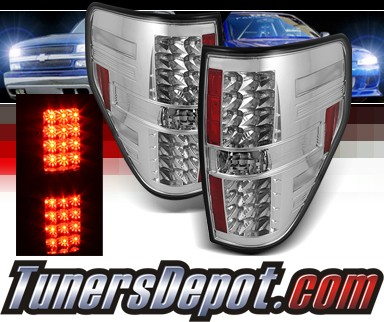 Sonar® LED Tail Lights - 09-13 Ford F150 F-150