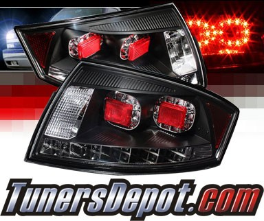 Sonar® LED Tail Lights (Black) - 00-06 Audi TT