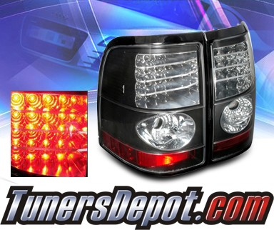 Sonar® LED Tail Lights (Black) - 02-05 Mercury Mountaineer