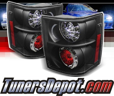 Sonar® LED Tail Lights (Black) - 03-05 Land Rover Range Rover HSE