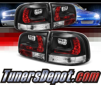 Sonar® LED Tail Lights (Black) - 03-07 VW Volkswagen Touareg