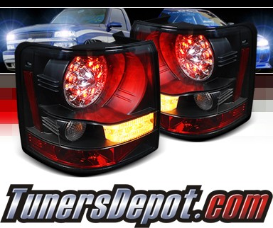 Sonar® LED Tail Lights (Black) - 06-09 Land Rover Range Rover Sport