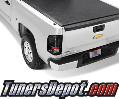 Sonar® LED Tail Lights (Black) - 07-13 Chevy Silverado