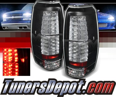 Sonar® LED Tail Lights (Black) - 07-14 Chevy Avalanche